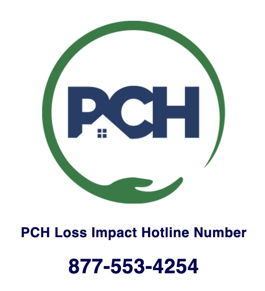 PCH Loss Impact Hotline Number